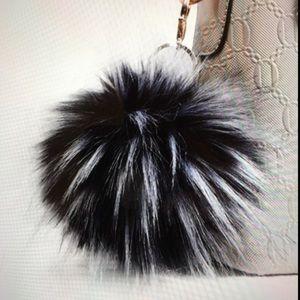 Accessories - NEW Rocker Pom Pom Jumbo Purse Handbag Keys Bag